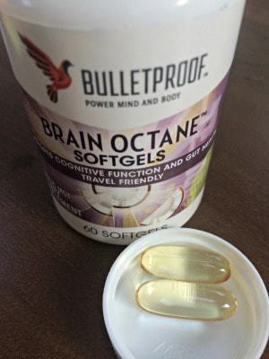 Brain Octane Supplement Bottle