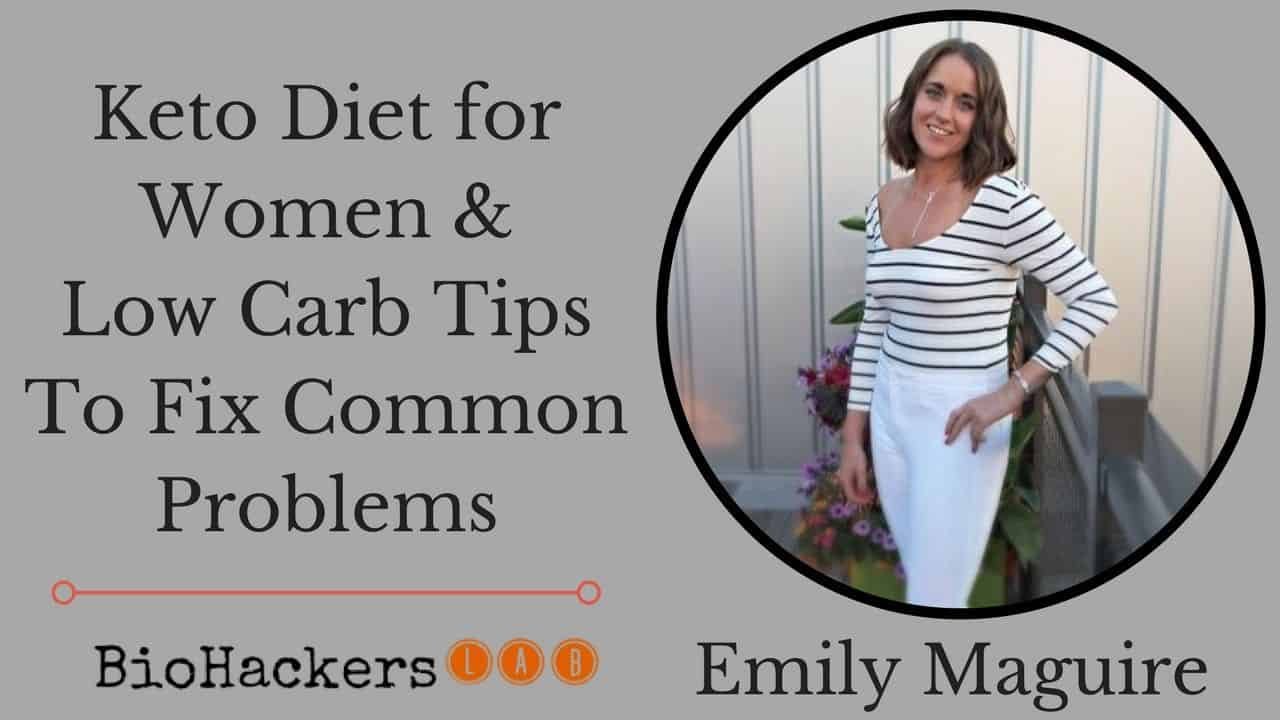 Top Keto (Low Carb) Diet for Women Tips • Nutritionist Emily Maguire
