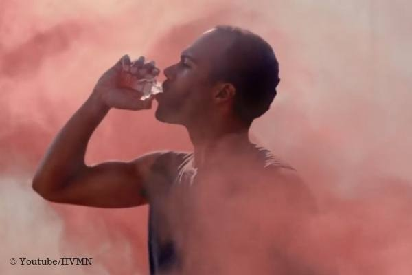 Man drinking the HVMN ketone ester