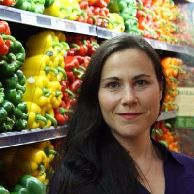 Nutritionist Amy Berger