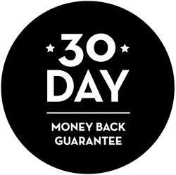 30 day money back refund gaurentee