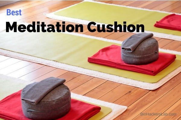 Green mediation mats & zafu cushion