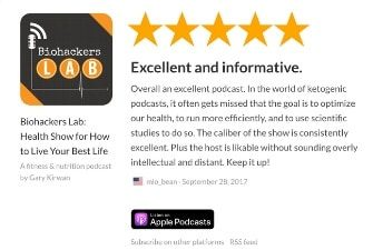 Biohackers Lab Podcast Review US iTunes