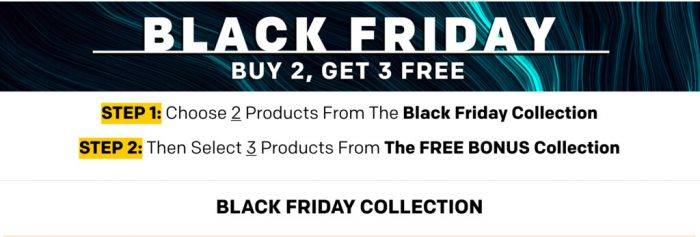 Natural Stacks Black Friday sale