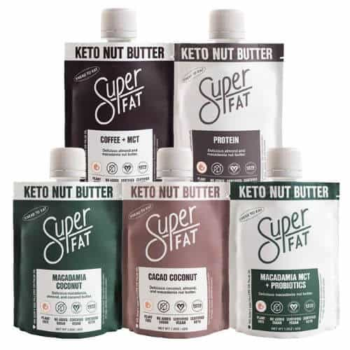 Superfat range keto nut butters