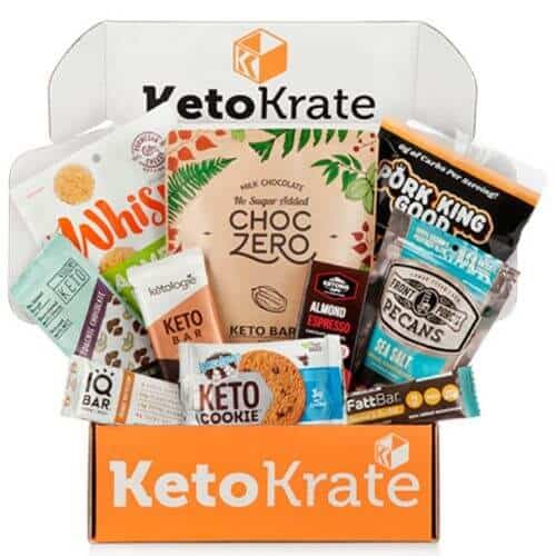 Example Keto Krate box