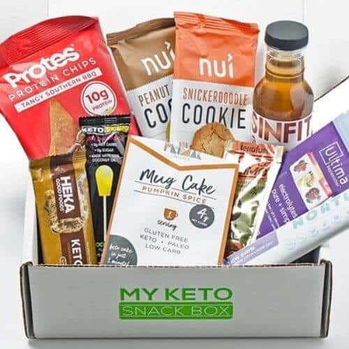 Example My Keto Snack box